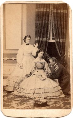 Are this girls parents praying for her? Very sweet shot CDV by J. Good of Trenton, NJ