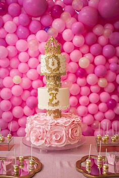 1000 balloons party Pink ballons birthday decoration for first baby
