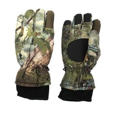 King's Camo Insulated Glove, Mountain Shadow, X-Large. Waterproof & Breathable. 45 grams of Thinsulate. 100% Polyester. Streamlined Index Fingers. Grip Palm to pick up gear or weapons easier.