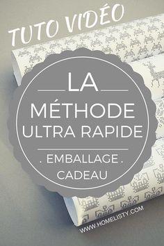 Le Secret Ultra Efficace Pour Un Emballage Cadeau Rapide !