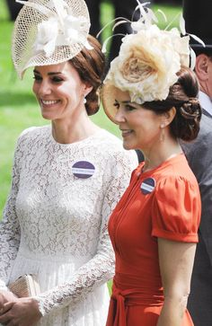 Mace (@RoyaleVision) on Twitter: Royal Ascot 2016, Day 2, June 16, 2016-Duchess of Cambridge and Crown Princess Mary of Denmark