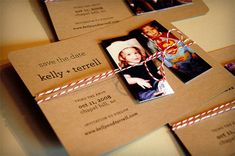 quirky save the date ideas - Google Search