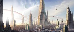 #scifi #city #art