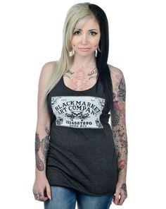 Audrey Tattoo Toxico Rockabilly Vintage Punk Tank Top
