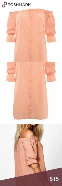 Dress Chiffon soft pink above the knee dress Dresses Mini
