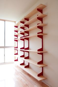 Una excelente idea de repisa para optimizar espacios