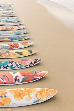 Sports activities Decorative Surfboards Collection by Nusa Indah's collaboration with Lulu DK to the Cove Atlantis Beach Aesthetic, Summer Aesthetic, Deco Surf, L Wallpaper, Pop Art, E Skate, Custom Surfboards, Photo Deco, Surfboard Art