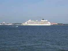 This Is The Carnival Cruise Ship Fantasy Leaving Charleston Harbor - Charleston sc cruise ships