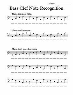Printables Sight Reading Worksheets google treble clef and music lessons on pinterest bass note recognition worksheet