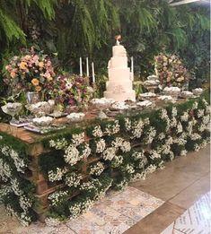 Mother of the Bride - Blog de Casamento e Dicas de Casamento para Noivas - Por Cristina Nudelman: Mesa de doces com paletes de madeira - Decoração Sustentável #weddingdecoration