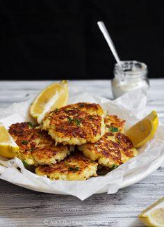 Ćufte od krompira sa dimljenim lososom / Potato cakes with smoked salmon