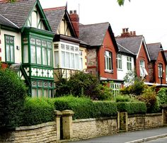 Victorian Row Houses, Rowen Avenue, Whalley Range, Manchester, United Kingdom, 2009, photograph by  The Green Hornet of Manchester.