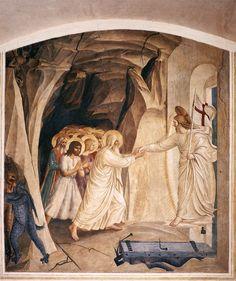 Christ in Limbo, 1441-1442 - Fra Angelico
