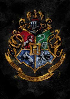 Hogwarts, an art print by Nikita Abakumov - INPRNT harry potter Harry Potter Anime, Harry Potter Poster, Harry Potter Kawaii, Harry Potter Tumblr, Harry Potter Pictures, Harry Potter Fandom, Harry Potter Hogwarts, Hogwarts Sign, Hogwarts Uniform