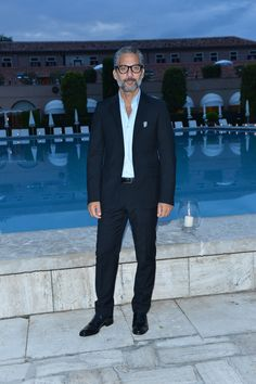 Giuseppe Fiorello at the Cipriani hotel in Venice. 69th Venice International Film Festival.
