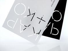 Kap+Ko Business Cards with laser cut detail // CAPAZ