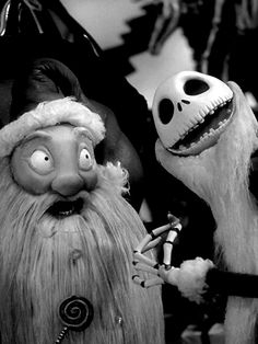 Jack and Sandy Claws.