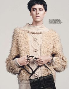 plus que parfaite: lisanne de jong by bjarne jonasson for elle france 6th december 2013