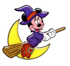 Halloween Disney Character Minnie Mouse Dressed as a Witch Clipart Hello Kitty Halloween, Minnie Mouse Halloween, Disney Halloween, Happy Halloween, Halloween Stuff, Halloween Halloween, Mickey Mouse E Amigos, Mickey Mouse And Friends, Mickey Minnie Mouse