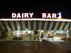 Dairy Bar in Whitley City when Shelby ran the grill :-( then seeing her daughter Brittney take over after she passed away can't even drive past without tearing up!