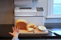 Basic Bread in Bread Maker | recipe from Cooking On Clover Lane Pan, panificadoras, máquinas