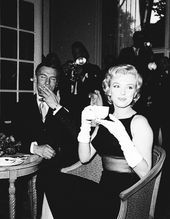 """"""" July Marilyn Monroe and Laurence Olivier at a press conference fo. Conference Call, July 15, Showgirls, Marilyn Monroe, Couple Photos, Frames, Couple Shots, Couple Pics, Female Actresses"""