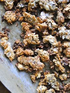 Banana Flax Seed granola