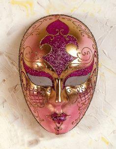 Mascara veneciana. Volto-Lux- Donna - Decorar con Arte