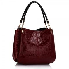 ro added a new photo. Feminine Style, Leather Handbags, Burgundy, My Style, Stuff To Buy, Snake, Facebook, Photos, Fashion