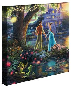 THE FROG PRINCE....Disney Insider Deals   The Thomas Kinkade Company