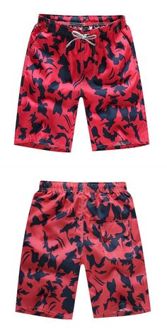 JERECY Mens Swim Trunks Colorful Fashion Girl Butterfly Quick Dry Board Shorts with Drawstring and Pockets