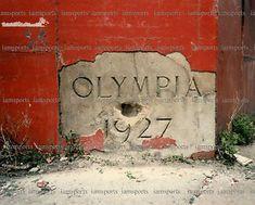 Olympia Stadium cornerstone 1927.  Detroit, MI Olympia Stadium, Detroit Sports, Detroit Red Wings, Michigan, Nostalgia, Memories, Memoirs, Souvenirs, Remember This