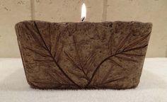 hypertufa candle holder_1   Flickr - Photo Sharing!