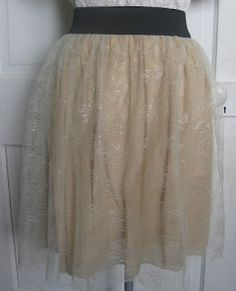 #DIY #Skirt  Verdant Bents: Make your own lace skirt
