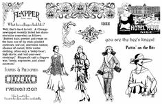 Artistic Outpost: Flapper Fashions