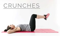 How to do crunches - 12 Week Wedding Workout #LPBLiveWell