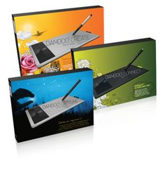 All About.com Articles on Graphics Hardware and Peripherals: Wacom Bamboo 2011 Product Line