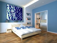 blue, lights Bedroom Paint, Furniture, Redecorating, House, Bedroom Paint Colors, Interior Design, Home Decor, Room, Soothing Bedroom