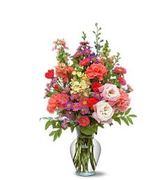 Someone special makes your days a little brighter? Show how much brighter they make your days with this smiling mix of flowers.