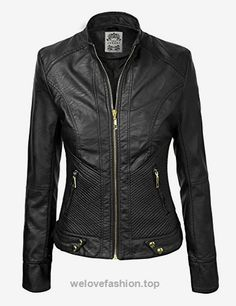 LL Womens Dressy Vegan Leather Biker Jacket XXL BLACK  BUY NOW     $64.21    We're all about adding edgy elements to our outfits. When we want to mix it up, we reach for this vegan leather moto jacket, complete with a pintucks detail zippered  ..