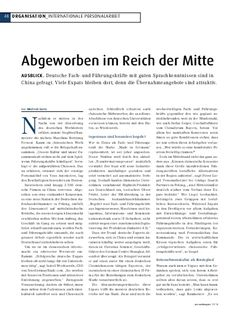 Personalmagazin - Abgeworben im Reich der Mitte. www.ginkgosearch.com/de #Personalberatung #Headhunter #China In China, Search, Words, Human Resources Jobs, Searching, Horse