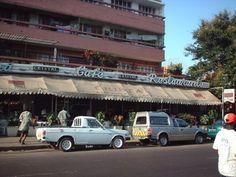 Maputo pastelaria Cristal em frente à escola comercial