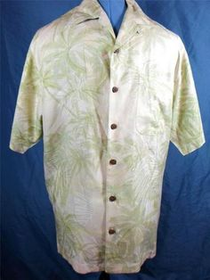Mouse over image to zoom  Have one to sell? Sell it yourself  TOMMY BAHAMA Men's Shirt Distressed Short Sleeve Casual Tokyo to Bali Unique S