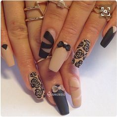 THESE NAILS ARE SO CUTE!!!  by younique_by_arnetrice