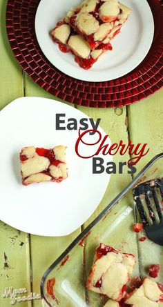 Cherry Cobbler Bars: Easy Dessert Recipe