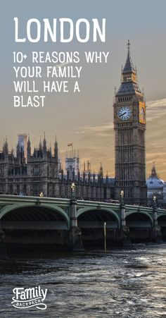 #London 10+ Reasons Why Your Family Will Have a Blast- Ever thought about visiting #London, England, with kids? If you haven't you really should! Find out #wheretostayin #London, #thingstodoin #London and why your family is guaranteed to have a blast!  #London is a top #destination for #familytravel in #2017!