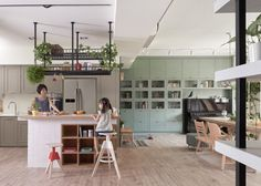 Living with Plants: A Family Apartment in Taiwan: Gardenista