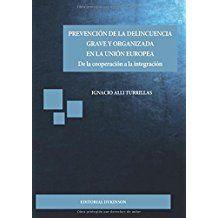 Prevención de la delincuencia grave y organizada en la Unión Europea : de la cooperación a la integración / Ignacio Alli Turrillas