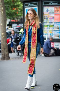 #New on #STYLEDUMONDE  http://www.styledumonde.com  with @chufy #SofiaSanchezBarrenechea at #paris #couture #fashionweek #outfit #ootd #streetstyle #streetfashion #streetchic #streetsnaps #fashion #mode #style