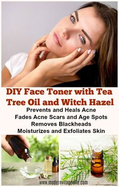 Recipes of homemade skin care products with tea tree oil to treat acne, purify, moisturize, exfoliate your skin. Get healthy glowing skin, healthy hair and nails with this simple DIY instructions. Homemade Skin Care, Diy Skin Care, Facial Skin Care, Natural Skin Care, Tea Tree Oil Uses, Tea Tree Oil For Acne, Acne Oil, Skin Care Routine For 20s, Tea Tree Essential Oil